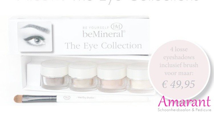 Nieuw! BeMineral Eye Collection.